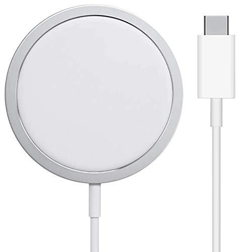 iGuard Wireless Charger Ladepad Aluminium, 15W kabellose Ladestation für alle Qi-Zertifiziert...