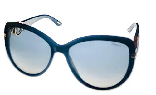 Chopard Damen SCH205S560700 Sonnenbrille, Shiny Black, 56/17/140