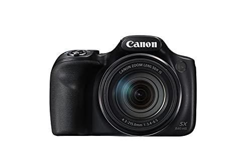 Canon PowerShot SX540 HS Digitalkamera (20,3 MPCMOS-Sensor, 50-fach Ultrazoom, 100-fach ZoomPlus,...
