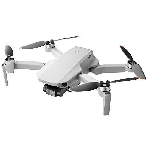 DJI Mini 2 - Ultraleichter und faltbarer Drohnen-Quadkopter, 3-Achsen-Gimbal mit 4K-Kamera, 12MP...