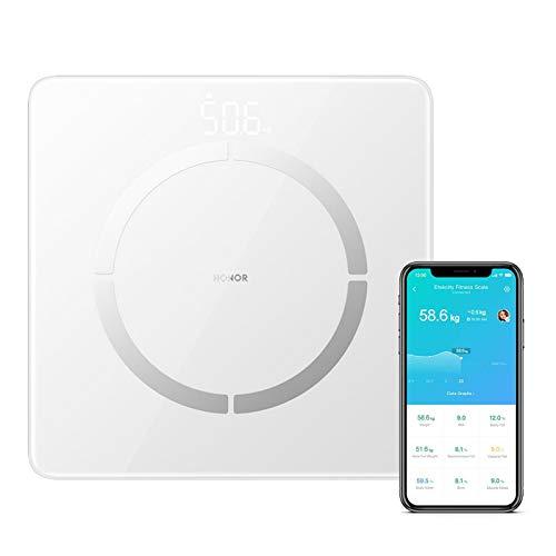 HONOR Scale 2 Waage, Waagen Bluetooth Smart Waage mit App Smart Waage für Hochpräzise Skala Waage...