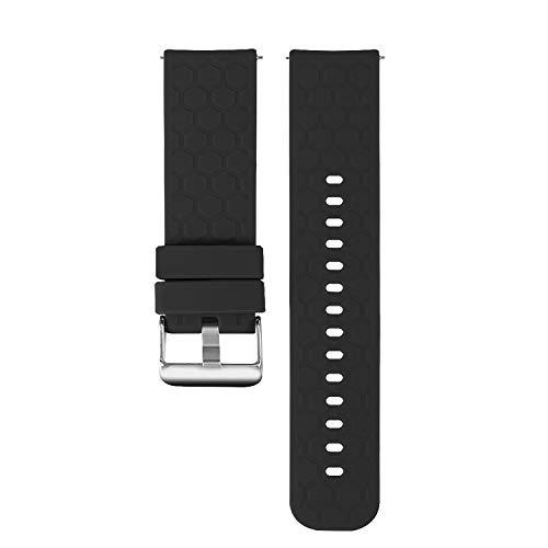Tencloud Ersatzarmband kompatibel mit Umidigi UFit Armband, weiches Sport-Silikon-Armband,...