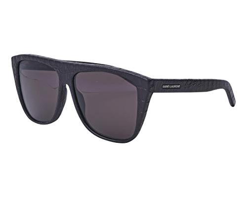 Yves Saint Laurent Sonnenbrillen (SL-1 012) schwarz gestreift - grau
