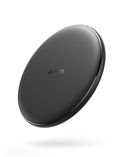 Anker PowerWave Wireless Charger Ladepad, Kabelloses 10W Ladegerät, Qi-Zertifiziert, Kompatibel mit...