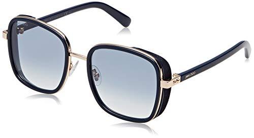 Jimmy Choo Damen ELVA/S 08 KY2 54 Sonnenbrille, Blau (Bluette Gold/Grey Grey)