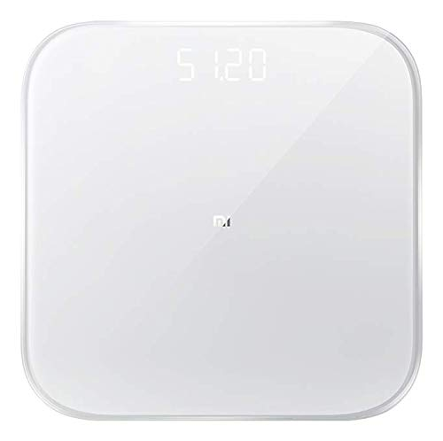 Xiaomi Mi Smart Scale 2 Personenwaage mit iOS/Android Appanbindung, NUN4056GL, Weiß