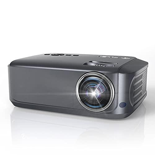 Beamer, 7800 Lumen Native 1080P Full HD Beamer LCD Video Beamer 78.000 Stunden mit max 230' Display,...