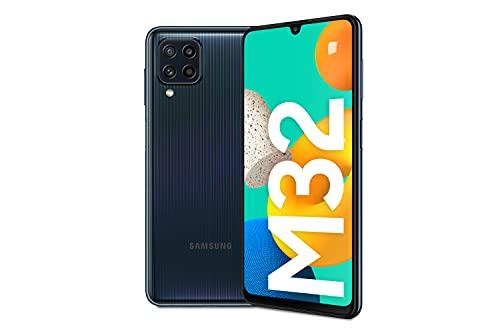 Samsung Galaxy M32 Android Smartphone ohne Vertrag, 6,4-Zoll -Infinity-U-Display, starker 5.000 mAh...
