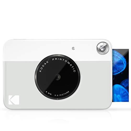 Kodak PRINTOMATIC Digitale Sofortbildkamera, Vollfarbdrucke auf ZINK 2x3-Fotopapier mit...