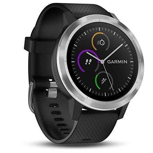 Garmin vívoactive 3 GPS-Fitness-Smartwatch - vorinstallierte Sport-Apps, kontaktloses Bezahlen mit...