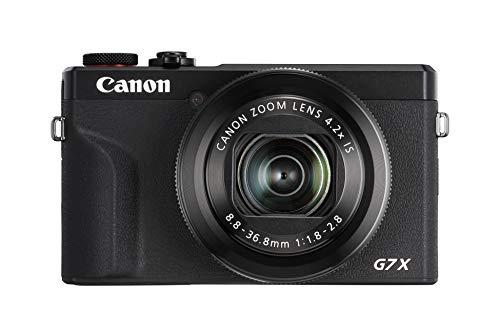 Canon PowerShot G7 X Mark III Digitalkamera (20,1 MP, 4,2-fach optischer Zoom, 7,5cm (3 Zoll)...