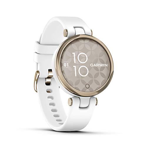 """Garmin Lily """"Sport"""" – modische Damen-Smartwatch mit hochwertiger Aluminium-Lünette,..."""