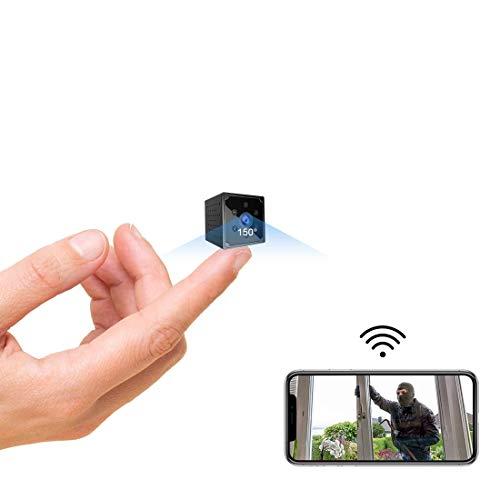 Mini Kamera,TODAYI 4K HD WLAN Mini Überwachungskamera Lange Batterielaufzeit WiFi Minikamera live...