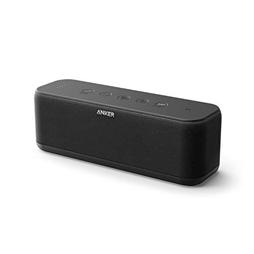 Anker SoundCore Boost Bluetooth Lautsprecher, BassUp Technologie, IPX7 Wasserschutz, 12 Std Akku,...