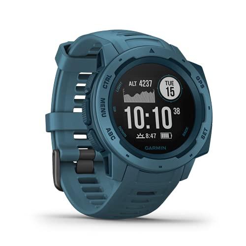 Garmin Instinct - wasserdichte GPS-Smartwatch mit Sport-/Fitnessfunktionen und bis zu 14 Tagen...