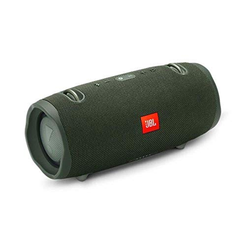 JBL Xtreme 2 Musikbox in Grün – Wasserdichter, portabler Stereo Bluetooth Speaker mit...
