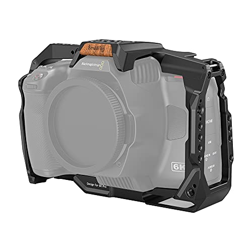SMALLRIG BMPCC 6K Pro Cage kompatibel mit Blackmagic Design Pocket Cinema Camera 6K Pro - 3270