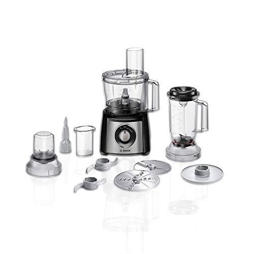 Bosch MCM3501M Kompakt-Küchenmaschine Multitalent 3, 800 W, 2 Arbeitsstufen und Momentstufe, 2,3 L...