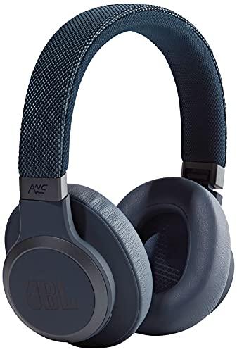 JBL LIVE 650BTNC kabellose Over-Ear Kopfhörer in Weiß – Bluetooth Ohrhörer mit Noise...