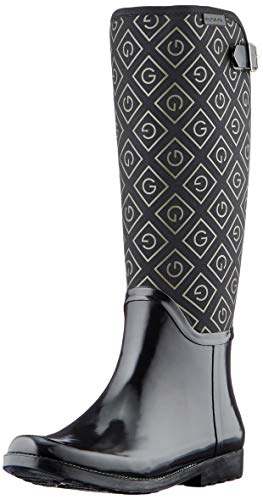 GANT FOOTWEAR Damen RAINEA Gummistiefel, Black, 39 EU