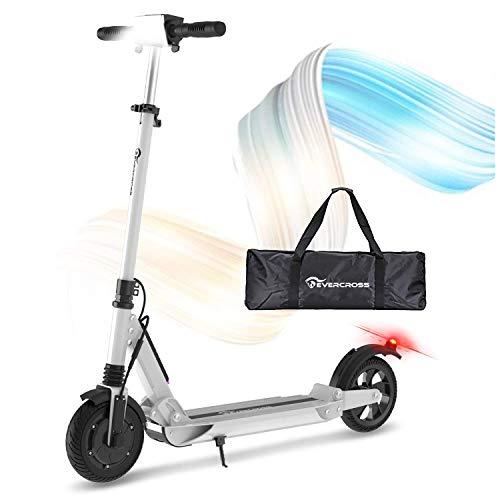 RCB Elektroroller Erwachsene Electric Scooter 30 km/h, 350W Motor, Anti-Rutsch-Reifen und...