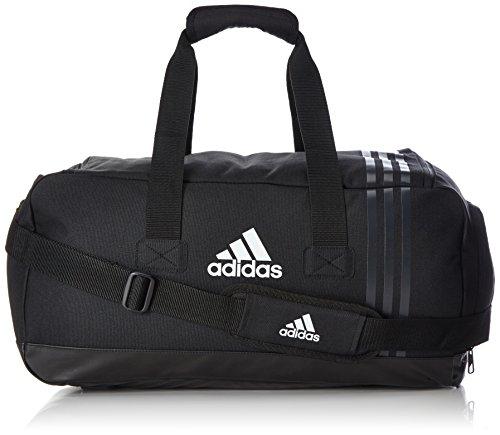 adidas Uni Tiro Sporttasche, Tiro , Gr. Small (Herstellergröße: Small), Black/Dark Grey/White