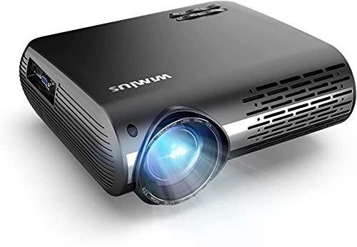 1080p Beamer Full HD, 7400 Lumen Home Cinema Heimkino Beamer