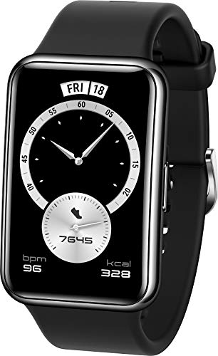 HUAWEI WATCH FIT Elegant Smartwatch, 1,64 Zoll AMOLED-Display, Persönlicher Coach, 10 Tage...