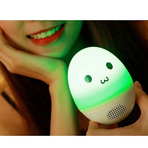 XFSE Tumbler Glowing Bluetooth Speaker Silikon Bunte Touch Light Lightweight Einfache Nachtlicht...