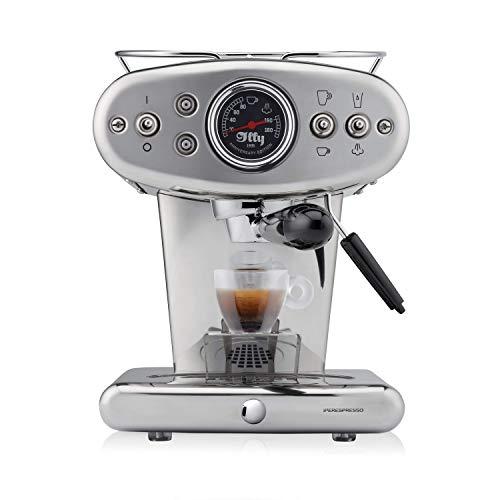 illy Kaffee, Kaffemaschine für Iperespresso Kapseln X1 Anniversary, Inox