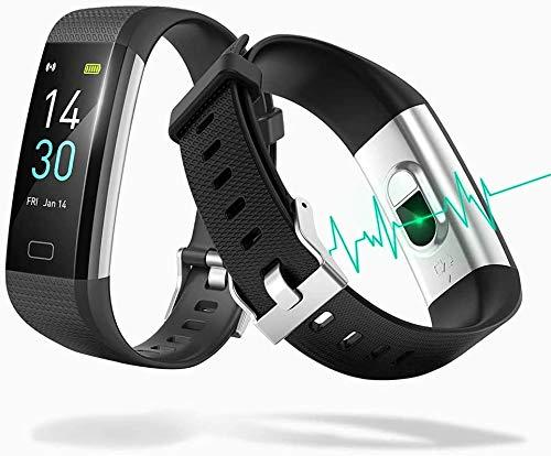Fitness Tracker, Fitness Armband mit Pulsmesser, IP68 Wasserdicht Smartwatch Sportuhr, 0,96 Zoll...