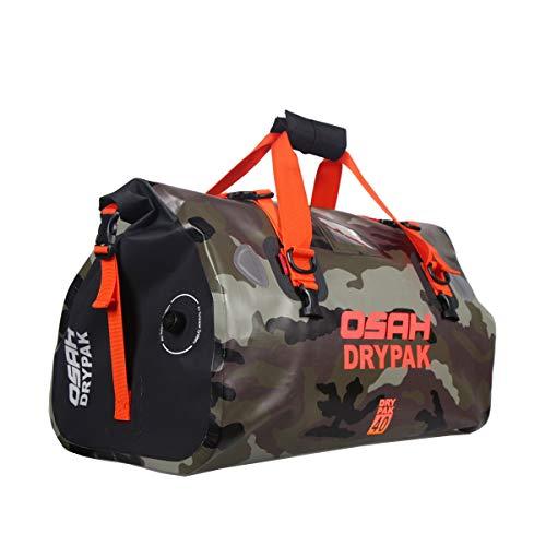 Motorrad Tasche wasserdicht Reisetasche Sattelrolle Gepäck Tasche reflektierend für...
