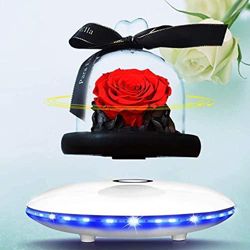 Ewige Blume Magnetic Levitation Speake, drahtlose Bluetooth-Lautsprecher, 360 ° Surround Sound,...