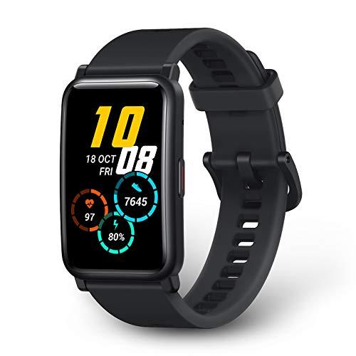 HONOR Watch ES Smartwatch 1,64 Zoll AMOLED-Display, Fitness Tracker Herzfrequenzmessung SpO2&Druck...