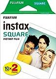 instax SQUARE Film, (2x10 Aufnahmen)