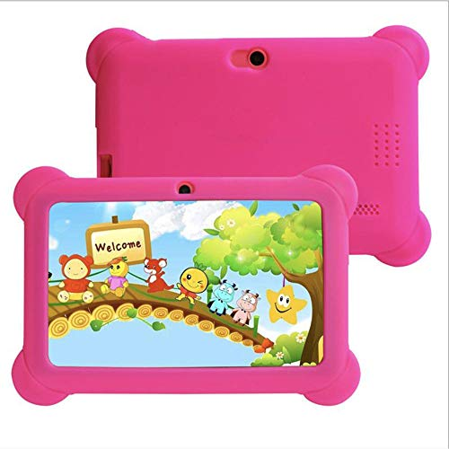 Kinder Tablet 7 Zoll 2GB RAM 32GB ROM Vorinstalliert 1080p Full HD-Display WiFi Android Tablet...