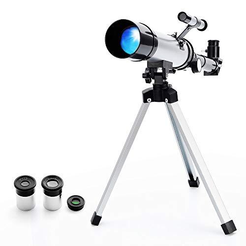 Astronomisches Teleskop, Zoom 90X HD Monokulares Weltraumteleskop im Freien, 360/50mm Astronomisches...