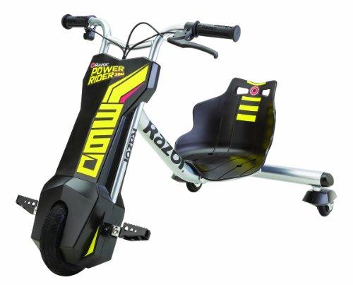 Razor Dreirad mit Elektromotor Powerrider 360 - 2014 US TV Item, Black, 20173801