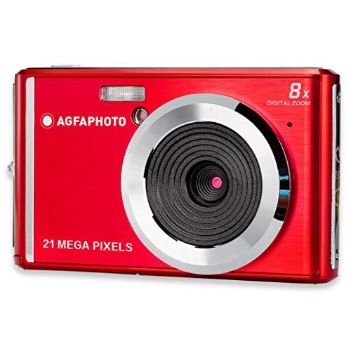 AGFA Photo – Kompakte Digitalkamera mit 21 Megapixel CMOS-Sensor, 8x Digitalzoom und LCD-Display...