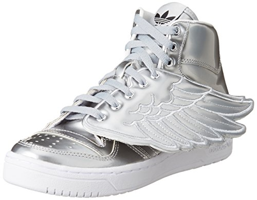 adidas Hightop Sneaker Js Wings Metal silberfarben EU 36 2/3 (UK 4)