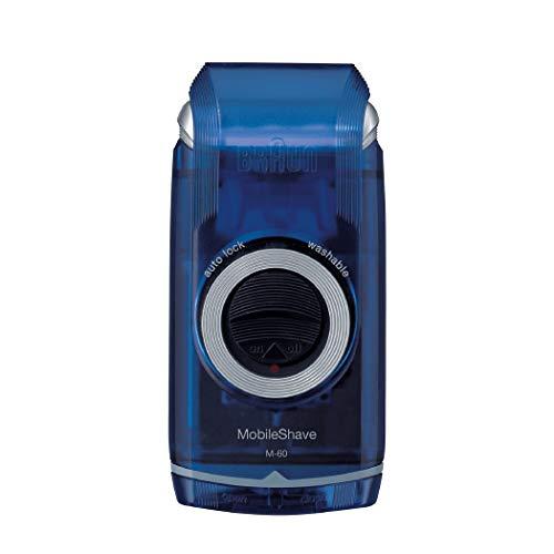 Braun MobileShave M-60 elektrischer Rasierer (vollständig abwaschbarer Rasierapparat,...