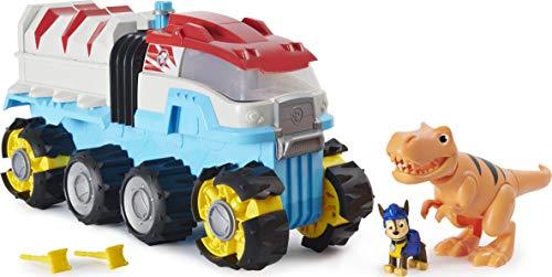 PAW Patrol Dino Rescue Dino Patroller motorisiertes Teamfahrzeug mit exklusiver Chase und T-Rex...