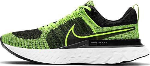 Nike Herren React Infinity Run FK 2 Laufschuh, Volt Volt Black, 48.5 EU