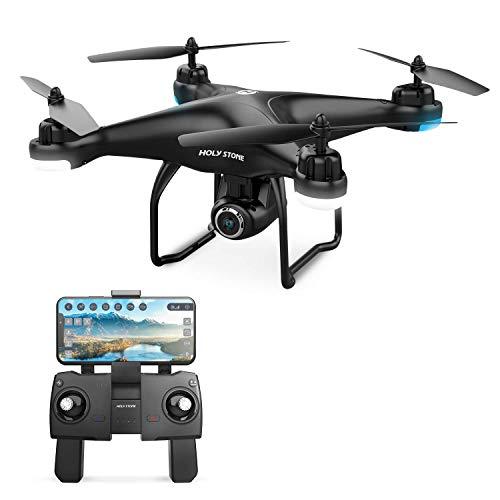 Holy Stone HS120D Drohne mit 2K Kamera HD und GPS Follow Me,RC Quadrocopter ferngesteuert mit Live...