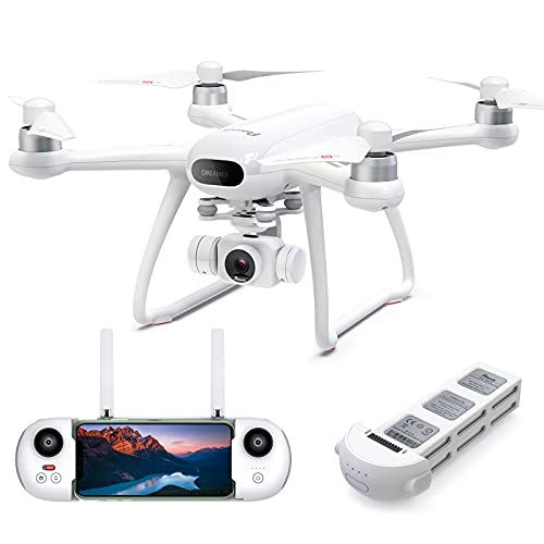 Potensic GPS Drohne mit 4K Kamera,Drohne mit GPS+GLONASS,Lange 31 Min. Flugzeit, Follow Me,RTH/Way...