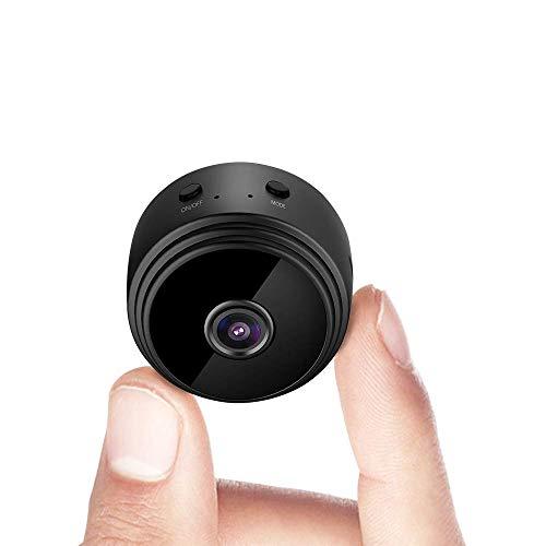 Mini Kamera, Full HD 1080P Tragbare Kleine WLAN Überwachungskamera Mikro Nanny Cam mit...
