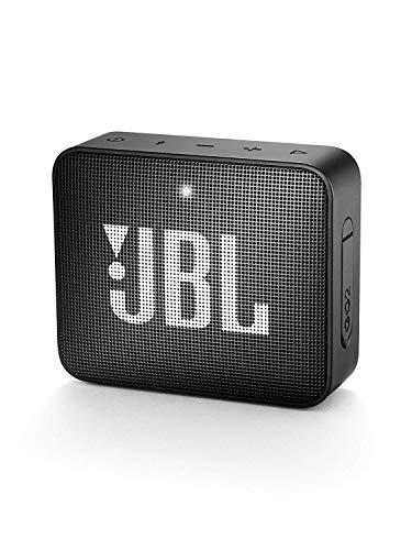 JBL GO 2 kleine Musikbox in Schwarz – Wasserfester, portabler Bluetooth-Lautsprecher mit...