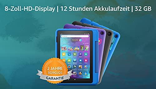 Neu: das Fire HD 8 Kids Pro-Tablet | Ab dem Grundschulalter | 20,3 cm großer Bildschirm (8 Zoll),...