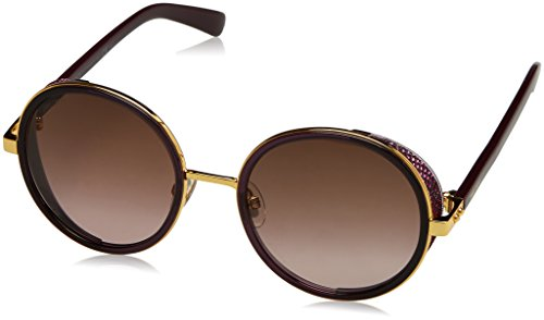Jimmy Choo Damen ANDIE/N/S V6 1KJ 54 Sonnenbrille, Gold (Goldvlt Plum/Brown Sf)