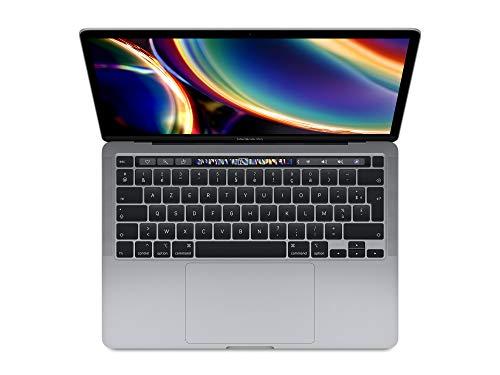 2020 Apple MacBook Pro (13', Intel i5 Chip, 16GB RAM, 512GB SSD Lager, Magic Keyboard, Vier...